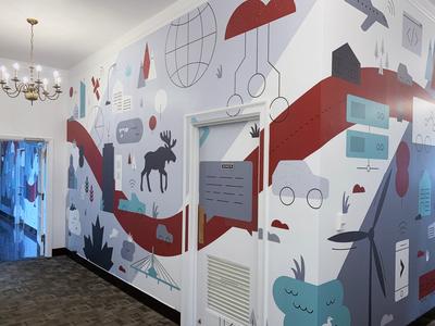 Gore Mutual Mural