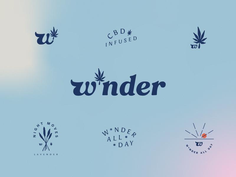 W*nder Logo design logotype logodesign branding logo