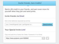 Picplum Invites
