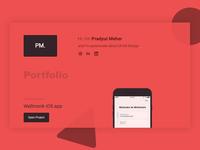 porfolio design - pradyutmeher.online