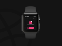 2x Dribbble Invites,  smartwatch dribbble app interface Design