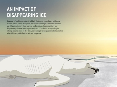 Impact of disappearing ice