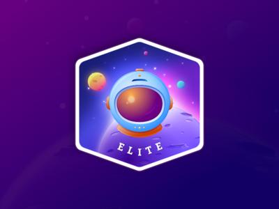 Gamification Badge - Elite