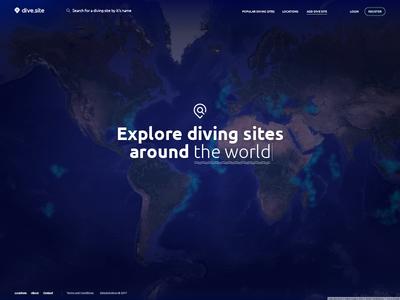 Explore dive sites