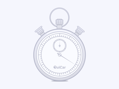 Chrono gradient chrono chronometer graphic illustration