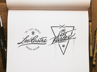 Logotype Design for Leo Castro, West Phoenix Barber