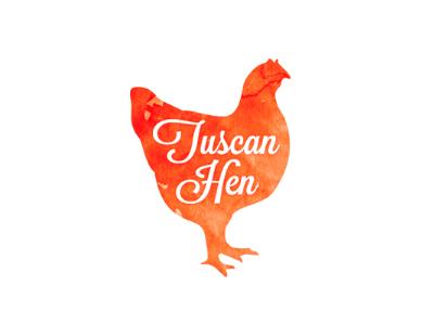 Tuscan Hen logo vector illustrator