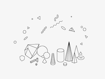 Experimental Elements geometry geometric vector shape icon