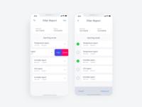 Filter Report App