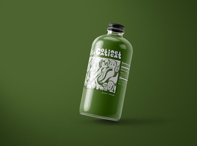 8th Continent - Green Energy labelart packaging branding naturalfoods design
