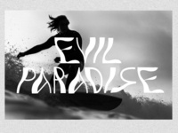 Evil Paradise wordmark