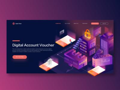 Digital Account Voucher