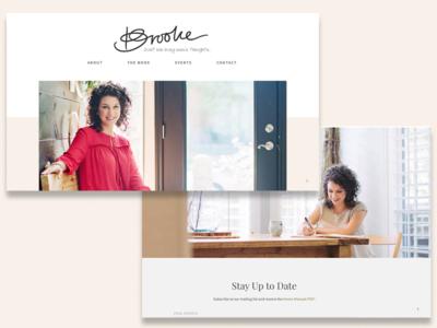 Brooke Sailer Website