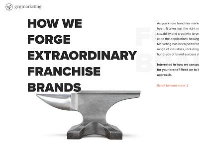 Gcgmarketing Franchise Landing Page franchising parallax landing page