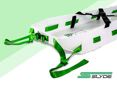 Slyde - Emergency Evacuation Sled landing page emergency sled slyde