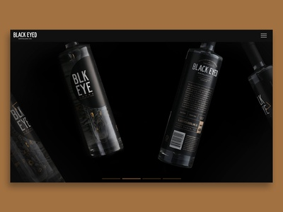 Black Eyed Distilling Website 2 video dark custom wordpress theme website