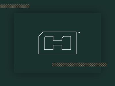 Hdz Concrete Outlined Logo