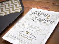 Barber wedding Invitations