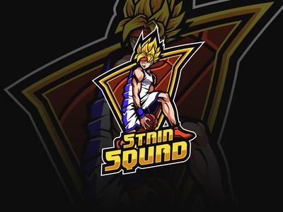 STAIN SQUAD mascot logo