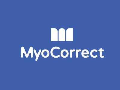 MyoCorrect logo mark logo creation logos logo design