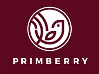 Primberry Logo White