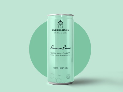 Buddha Brain packaging design layout illustration logo creation packaging design graphic design logo design