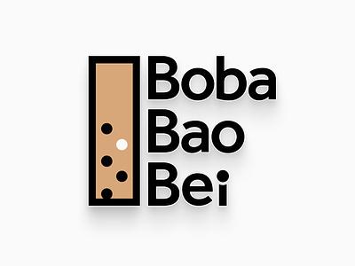 Boba Bao Bei logo design.