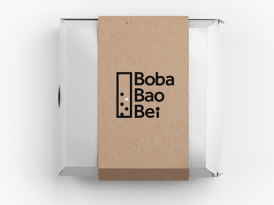 Food packaging for Boba Bao Bei
