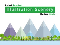 Illustration Scenery