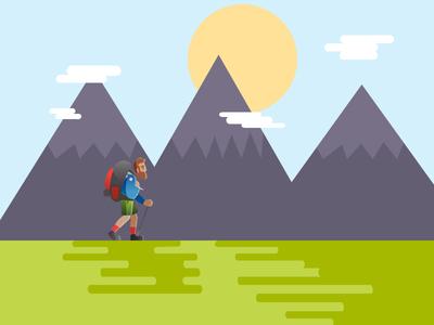 Illustration Mountain