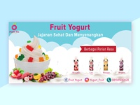 Banner Fruit Yogurt