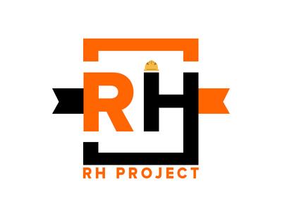 RH PROJECT vector design photoshop icon logo