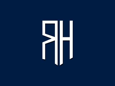 LOGO RH vector layoutdesign logo icon design photoshop