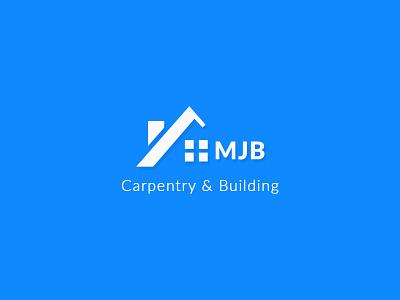 MJB Carpentry & Building | Logo Design real estate layout company vector branding brand design flat design logo design graphic  design