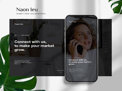 Naon Ieu | Web Design web design logo design graphics graphic design mobile layout desktop company minimalist design illustration ux ui