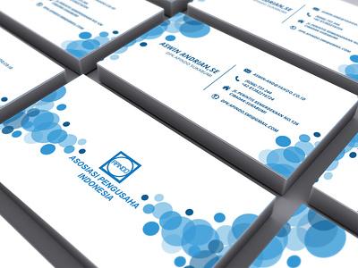 APINDO | Business Card logo designer business and finance printready apindo businesscard company vector illustration graphicdesign design