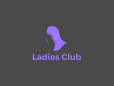 Ladies Club design graphicdesign illustration logo company minimalist vector mobile web logodesign job designer colorful icon business branding ladies club team logo clean