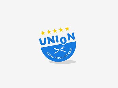 Union Logo union restaurant popular simple luxury brand icon designer branding job typography logodesign vector minimalist logo company illustration graphicdesign design