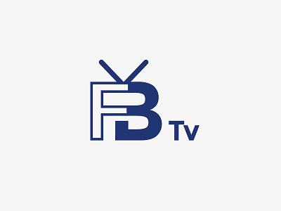 FB tv | Logo textlogo logodesign professional logo luxury tv television modern minimalist logo vector branding design graphicdesign illustration