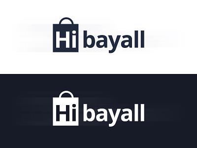 Hibayall | Logo Design mobile desktop illustration online marketing online shop logo design graphic design design branding company logo website classified ads store