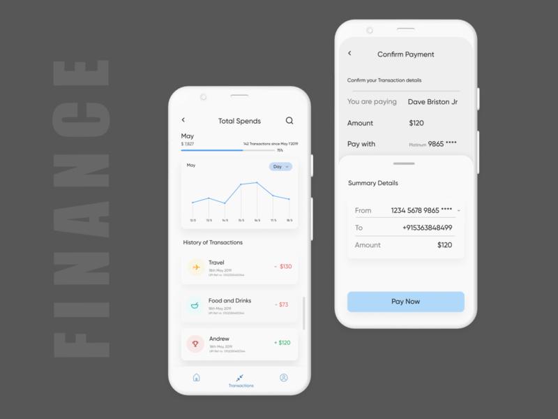 Finance  App-Transaction Ui