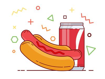 Coal & Hot Dog