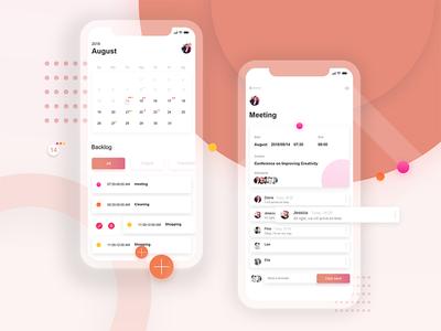 Calendar app calendar app
