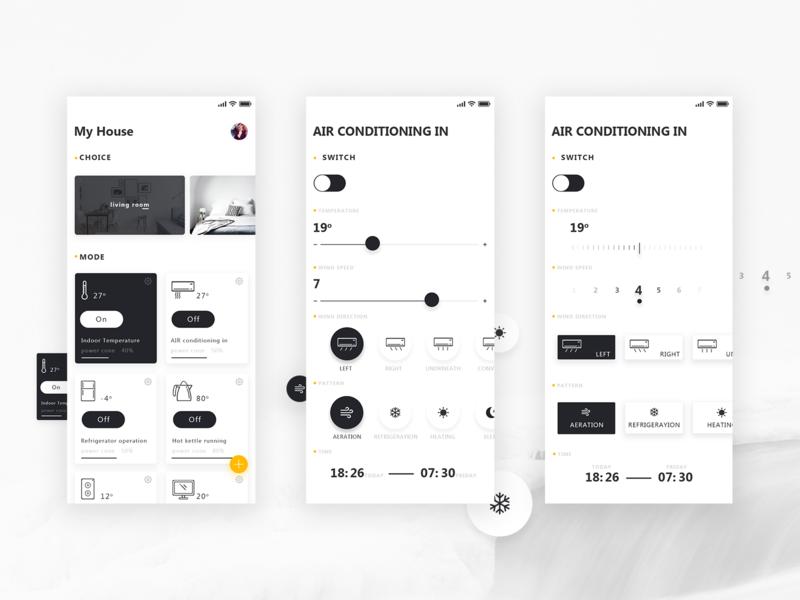 Smart home APP 练习 app home furnishing intelligence
