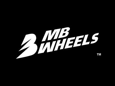 MB Wheels logo icon mark branding logo icon inspiration islam-biko flat logo icon logo graphics creative
