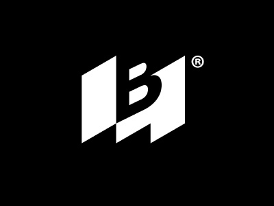 MBM  - Modern building materials   logo negative-space vector mark icon creative branding logo icon inspiration islam-biko logo icon graphics