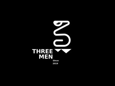 3 men logo