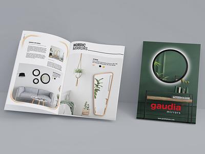 GAUDIAHOME.com / Katalog logo branding illustration design print app