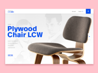 Daily UI - 003 - Eames Landing page