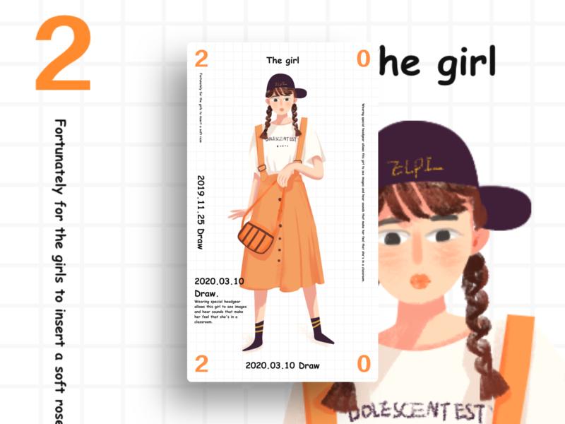 girl illustration girl